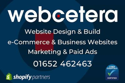 Webcetera UK Ltd - Website Design and Build