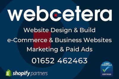 Webcetera UK Ltd - Website Design and Build